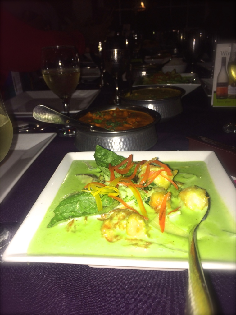 Green Thai Curry Shrimp from Tamarind