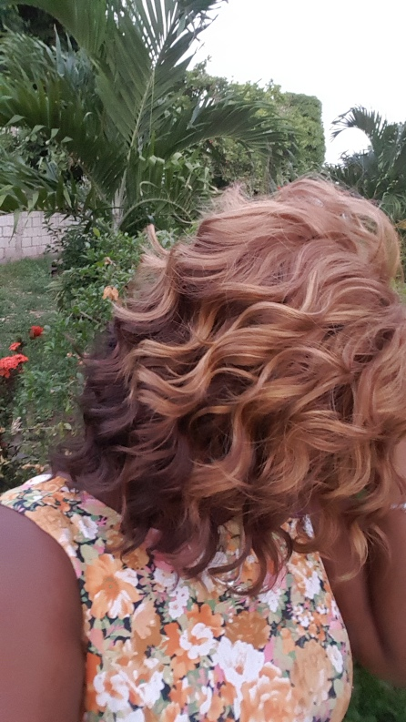 Shorty Deep Wave as a protective style for natural hair